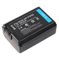 Wholesale 1500mAh V Li ion Battery for Sony NP FW50 NEX NEX3 NEX NEX A NEX DDigital Camera Camcorder