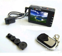 Wholesale Hidden Spy Camera High Resolution Mini DVR Button Pinhole Video Camera Portable DVR Recorder from DK