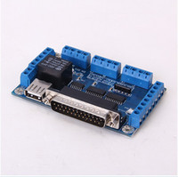Wholesale CNC Axis A TB6560 Stepper Motor Driver Controller Board DB25 Cable for KCAM4 DB25 P