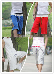 Wholesale 2012 New Style Men s Shorts Casual Pants Colors Sports Shorts Popular Men s Middle Pants YNK1