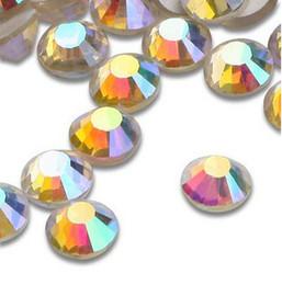 Wholesale crystal AB SS Crystal rhinestone motif non hot fix rhinestone nail art rhinestone