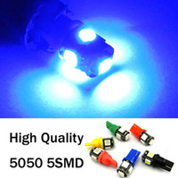 Wholesale Car Bulbs T10 SMD High Quality Auto LED Tail Lights License Lamps W5W White Blue Red