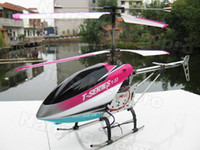 Helicopter Electric 3.5 Channel 2PCS Lot 68CM Big Large MJX T23 T623 3.5CH with LCD Display T-Series Gyro Metal 3D Flight Radio Electric Remote Control RC Helicopter