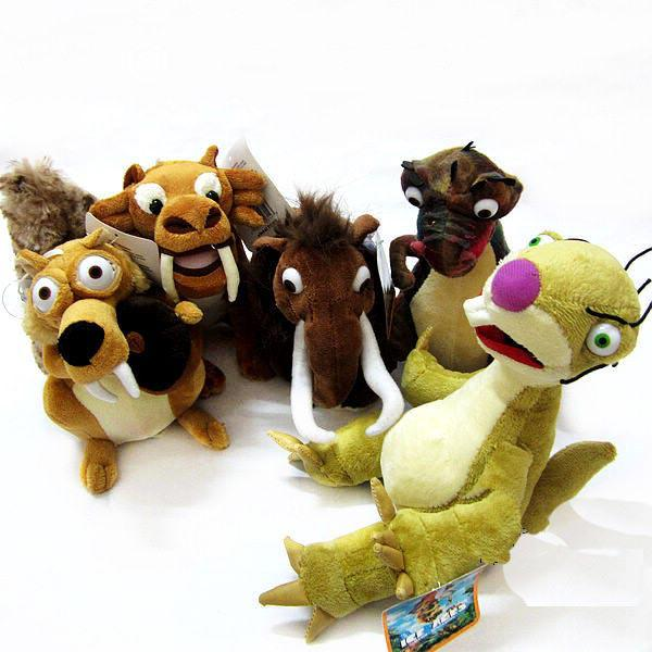 Toys Age 3 5 : Ice ages age series plush toys styles sid