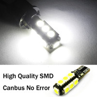 Wholesale Car Bulbs T10 SMD Canbus No Error Automotive LED Head Lights Show Wide Lamps White
