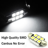 Wholesale Car Bulbs Festoon MM SMD LED Lights Canbus No Error Automotive Interior Lamps White