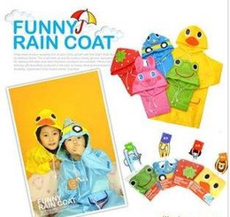 Wholesale Animal Raincoat Linda Children s Raincoat Kids Rain Coat Children s rainwear Baby Raincoat