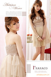 Wholesale 2012 sexy prom quinceanera pageant evening bridesmaid knee length dresses purple wedding dresses