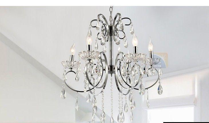 European Simple Crystal Lamp Chandelier/ Bedroom Lamp Lighting ...