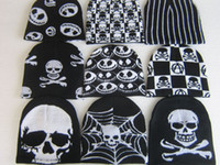 Wholesale 20 New NWT Unisex Beanie Hat Ski Cap Nightmare Before Christmas Halloween Gifts