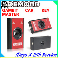 Wholesale Gambit programmer CAR KEY MASTER II RFID transponders Programming and Generating Scanner