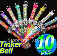 bell - Christmas gift D watches NEW Tinker Bell pc Cartoon quartz Watches Free Battery