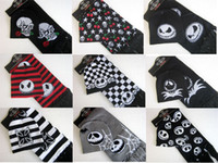 Wholesale Sets NWT Unisex Hat Scarf Nightmare Before Christmas Halloween Fashion Gifts