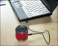 Wholesale DHL Original Kaidaer MN02 Mini Portable Speaker support TF Card U Disc FM Function