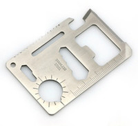 Multi Tools   Multi Function Portable Outdoor Saber Card Knife screw wrench opener