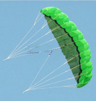 Wholesale have video m Dual Line Stunt kite Parachute Parafoil Sport Kite Power kite soft kite