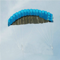 Wholesale with video m Dual Line Stunt kite Parachute Parafoil Sport Kite Power kite soft kite