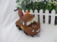 Wholesale New Pixar Cars Tow Mater Truck Doll Soft Toy quot Plush toy With Keychain Sucker