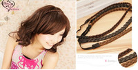 Wholesale Wig headgear Bohemia tails hair rope braids hair clip hair accessories