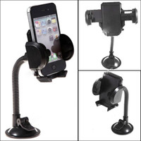 Universal   Universal Rotatable Suction Cup Swivel Mount Car Windshield Holder Cradle for Cell phone