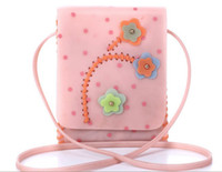 Pink Women Floral Polka dots Flowers Bags Bag Flaps for Women Plastic cement Jelly color Yellow Orange Pink Small