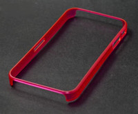 Wholesale Pink Translucent Glow in the Dark Premium Bumper Case for iphone s