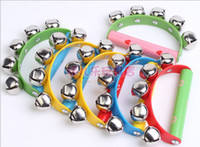 Wholesale Baby Toys Baby Musical toys Orff crack down on the dance music for baby rattle grip bell
