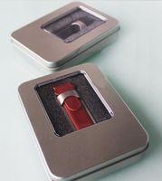 Wholesale 8GB USB Flash Drive Real Full Capacity USB Leather USB Flash Drive