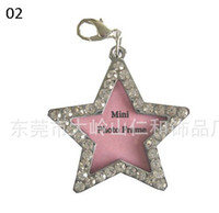 Wholesale Dog Tags Dog Identification Tags Cats ID Tags Pets Name Tags Cool Stylish Star shape Min Photo Frame