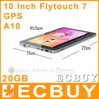 Wholesale 5pcs quot Tablet PC Superpad Flytouch Android GB HDD GB DDR3 A10 Flytouch