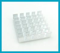 Free shipping (10pcs lot) Aluminum Heat Sink 18. 8x18. 8x5mm(L...