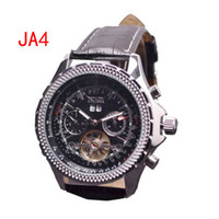 Wholesale jaragar men luxury automatic watches tourbillon double calendar dive mens mechanical classic