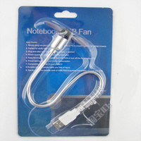 Wholesale USB Fan PC Desktop COMPUTER Laptop Notebook USB2 USB Cooling Flexible