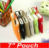 Wholesale CHpost Inch Sleeve inch pouch for quot epad MID tablet pc Apad cover leather case PT07