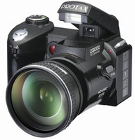 Wholesale NEW MP D3000 HD digital camera video camera P Inch LCD X Optical zoom by telephoto lens