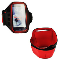 Plastic For Samsung  30pcs lots The Lastest Sport Armband Case for Samsung Galaxy S3 SIII i9300