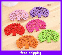 Wholesale Leaf silicone coasters bowl pad new strange insulation placemat creative European kitchen appliance