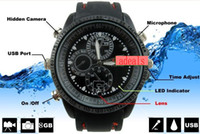 Wholesale 8GB Waterproof Spy Camera Watch DVR Hidden Video Recorder Camcorder HD SC1 fps