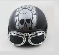 Wholesale Motorcycle half helmet summer helmet winter helmet helmet Four Seasons General skull helmet top sale