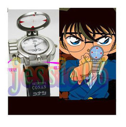 Wholesale Hot watch detective conan a live action version of band laser aiming luminous children pupils gift