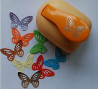 Wholesale Free Ship HOT SALE XXL MM Butterfly Mini Paper Shapper Punch Craft Punch Scrapbook Retail Package