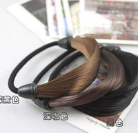 Wholesale Fashion Korean Wig Hair Hair Circle Manual Twist Rubber Band Hairband SY14