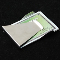 Wholesale Slim Double Sided Holder Wallet Money Clip