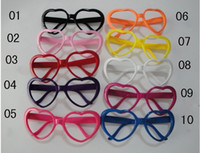 Wholesale Cheap Party Glasses Funky Novelty Glasses Plastic Party Sunglasses Halloween Party Props NO Lenses