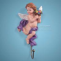 Wholesale 2012 new special value hook cute angel iron hook coat hooks