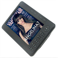 Wholesale 7 inch Ebook Reader with Color Screen ebook High Quality Slim GB Ebook reader black white