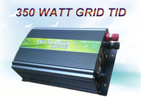 Wholesale 350W Grid Tie Power Inverter for Solar Panels V V DC AC