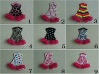 Wholesale hot sale baby leg warmers with nice hot hot pink ruffle kids leg warmers damask leopard leg warmers for m baby