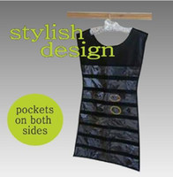 closet door - Easy Access Double Sided Pocket Hanging Jewelry Closet or Door Organizer