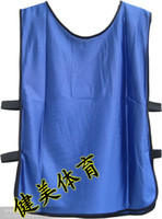Wholesale soccer training vest Against suit clothes blue soccer uniforms jersey club mix order